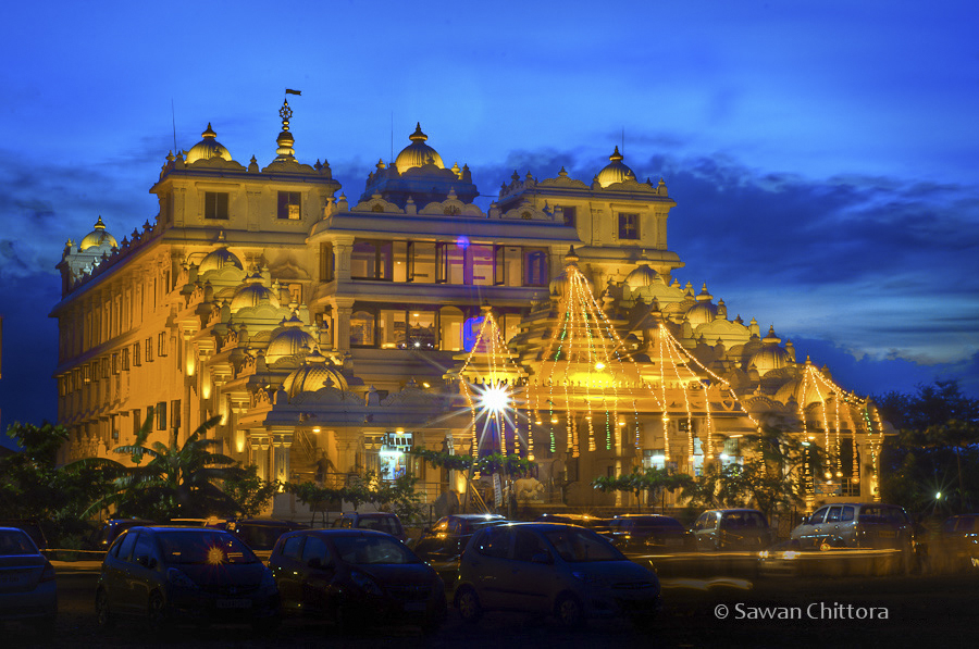 #ISKCON #NammaChennai #IncredibleIndia #BlueHour